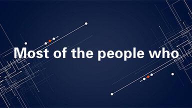 Most of the people who appear most often